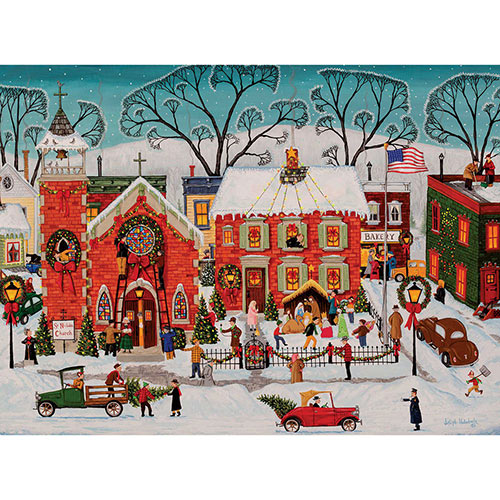 Decorating the Parish 300 Large Piece Jigsaw Puzzle