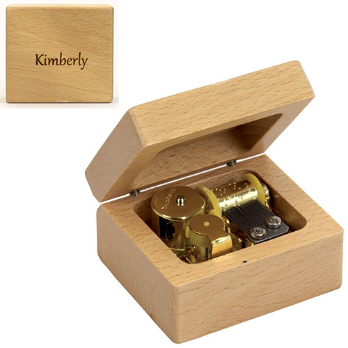 Personalized Wooden Music Box