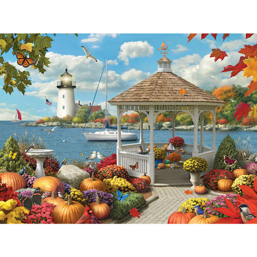 Autumn Splendor II 300 Large Piece Jigsaw Puzzle