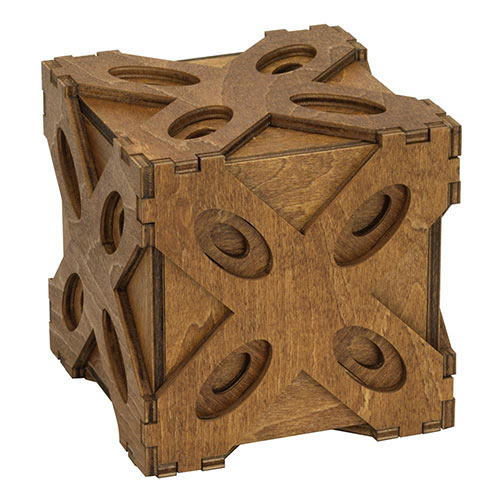 Wooden Butterfly Moving Puzzle Box