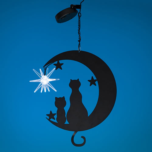 Cats On The Moon With Solar Star