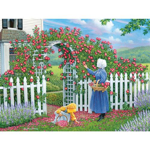 The Rose Arbor 1000 Piece Jigsaw Puzzle