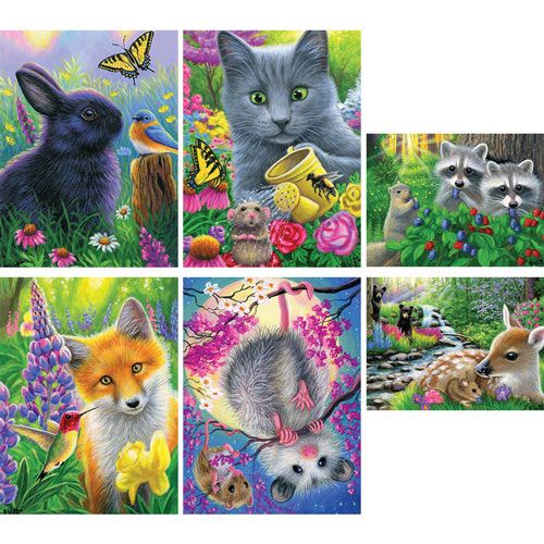 Set of 6: Bridget Voth 500 Piece Jigsaw Puzzles
