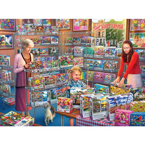 Rosen's Puzzle Store 1000 Piece Jigsaw Puzzle