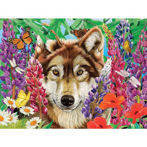 Wolf Wonderland 300 Large Piece Jigsaw Puzzle
