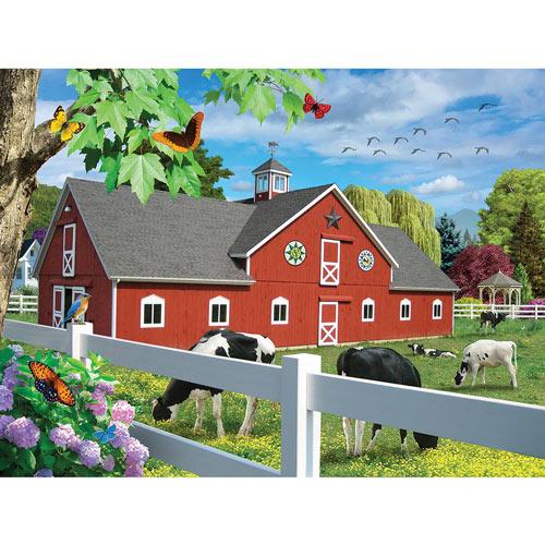 Pleasant Pasture 300 Large Piece Jigsaw Puzzle