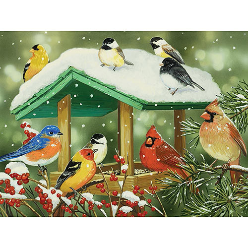 Winter Treats 300 Large Piece Jigsaw Puzzle