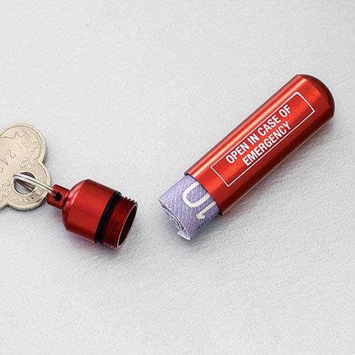 Emergency Keychain Capsule
