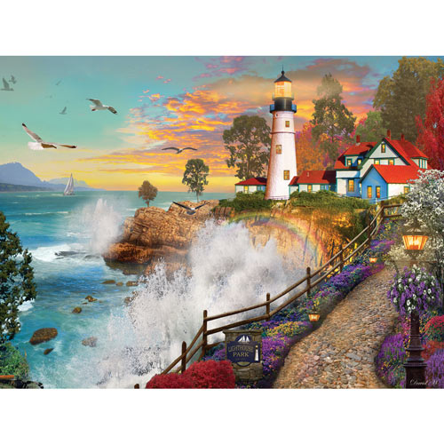 Lighthouse Park 300 Large Piece Jigsaw Puzzle
