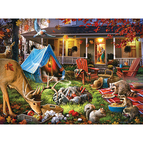 Getting Chilly Out 300 Large Piece Jigsaw Puzzle