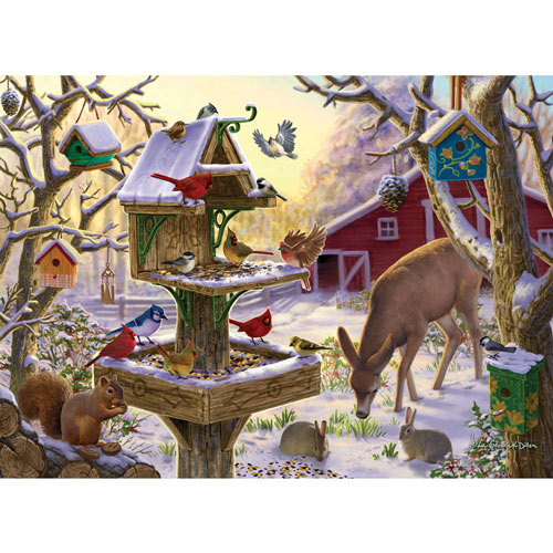 Sunrise Feasting 1000 Piece Jigsaw Puzzle