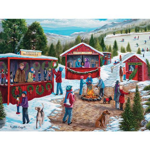 Christmas Fair 300 Large Piece Jigsaw Puzzle