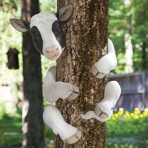 Bessie the Cow Animal Tree Hugger