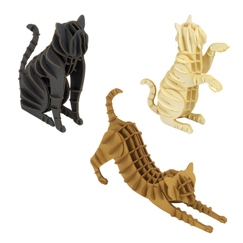 Set of Three Cat Puzzles