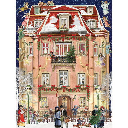 Christmas House 500 Piece Jigsaw Puzzle