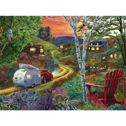 Friends And Neighbors 500 Piece Jigsaw Puzzle