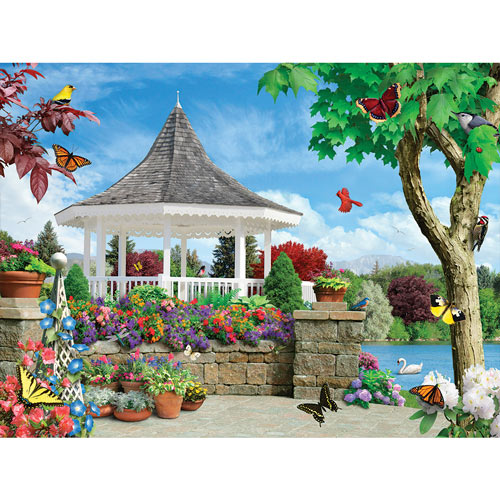 Vibrant Veranda 300 Large Piece Jigsaw Puzzle