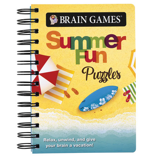 Summer Fun Puzzles book