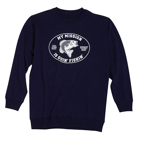 Fishin' Mission Sweatshirt