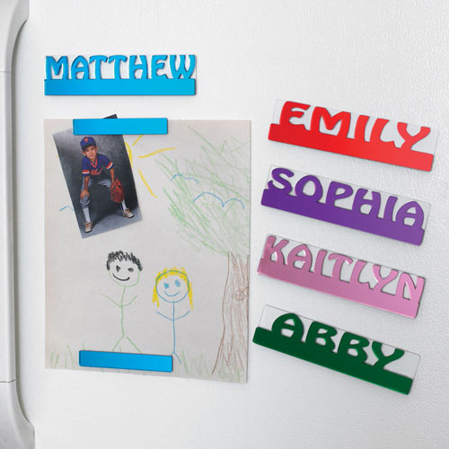 Personalized Magnet For Each Family Member
