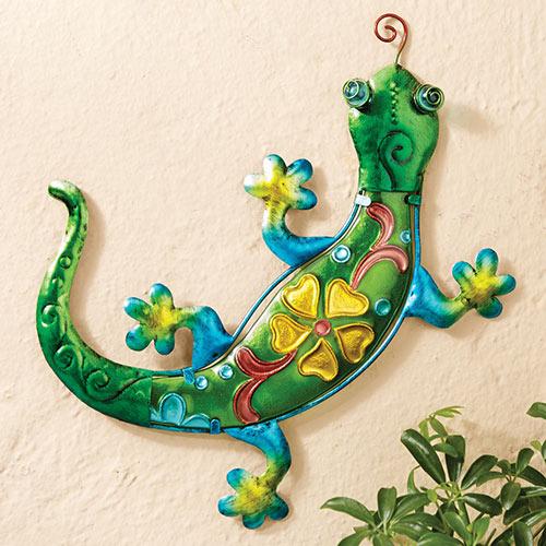 Leapin' Lizard Garden Sculpture