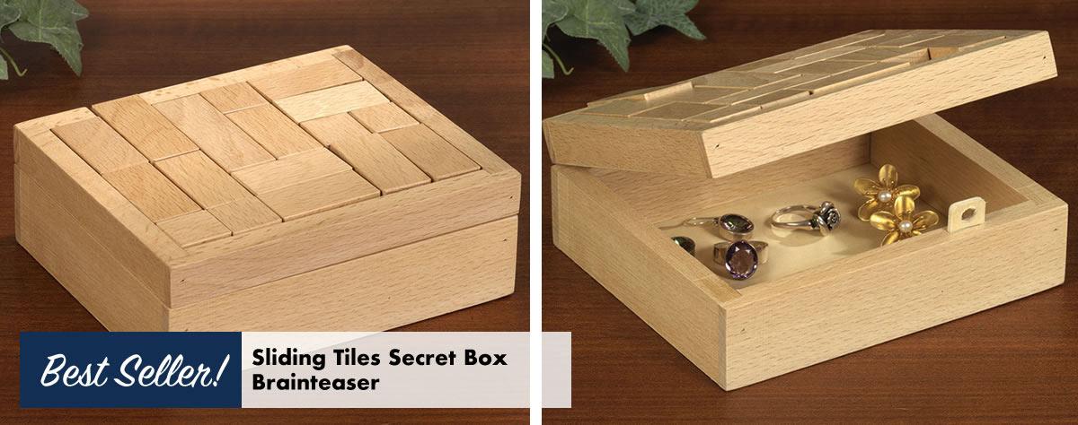Sliding Tiles Secret Box