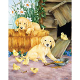 Mischief 100 Large Piece Jigsaw Puzzle