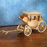 Stagecoach Model Kit