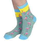 Flamingo Novelty Socks