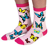 Butterfly Novelty Socks