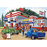 Frank's Friendly Service 1000 Piece Jigsaw Puzzle