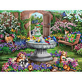 Hidden Garden 300 Large Piece Jigsaw Puzzle