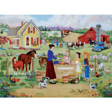 Farm Fresh Produce 1000 Piece Jigsaw Puzzle