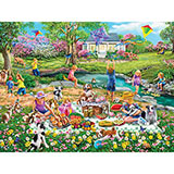 Meadow Picnic 1000 Piece Jigsaw Puzzle