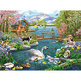 Spring Celebration 300 Large Piece Jigsaw Puzzle