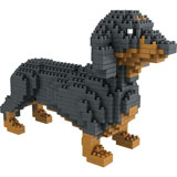 Dog Breed 3-D BlockPuzzle- Dachshund