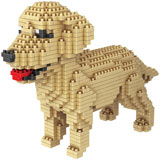 Dog Breed 3-D BlockPuzzle- Golden Retriever