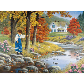 Stepping Stones 300 Large Piece Jigsaw Puzzle