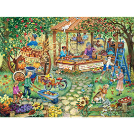 Apple Harvest 500 Piece Jigsaw Puzzle