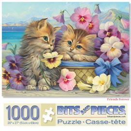 Friends Forever 1000 Piece Jigsaw Puzzle