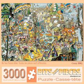 Crazy BBQ 3000 Piece Jigsaw Puzzle