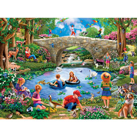 End Of Summer 1000 Piece Jigsaw Puzzle