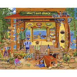 Mike's Bait Shop 500 Piece Jigsaw Puzzle