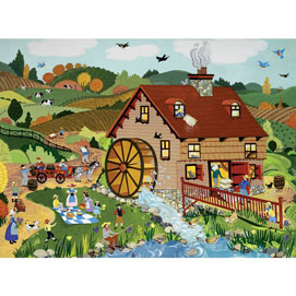 Mill House 1000 Piece Jigsaw Puzzle