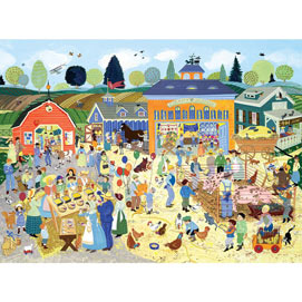 Country Fair 1000 Piece Jigsaw Puzzle