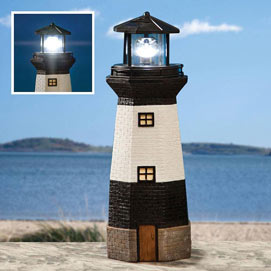 Small Solar Lighthouse