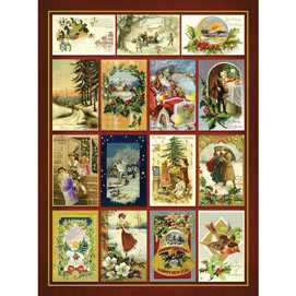 Christmas Greetings Quilt 500 Piece Jigsaw Puzzle