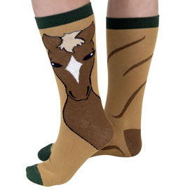 Horse Novelty Sock