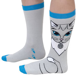 Kitten Novelty Sock