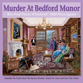 Murder At Bedford Manor 1000 Piece Jigsaw Puzzle